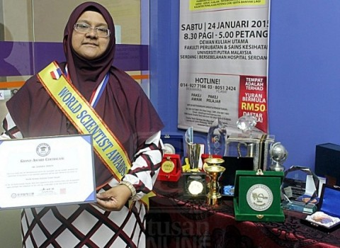 Wanita Kelantan Saintis Wanita Dunia