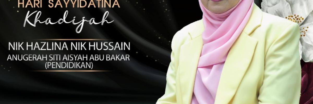 HSK 2019: Tokoh Sayyidatina Aisyah Abu Bakar (Pendidikan)