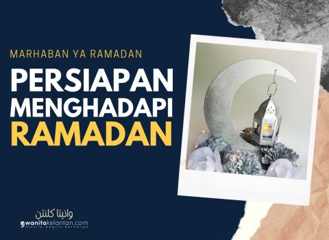 Persediaan Menghadapi Ramadan