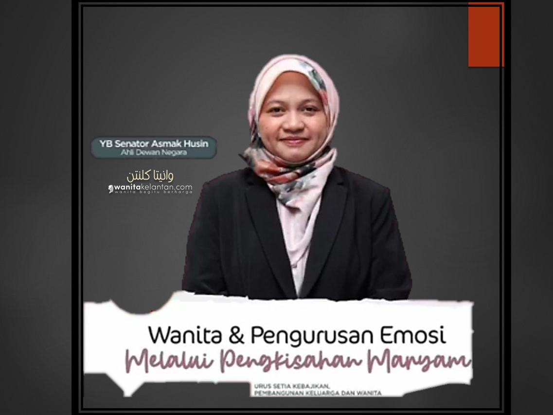 Wanita Dan Pengurusan Emosi Melalui Pengkisahan Maryam A.s