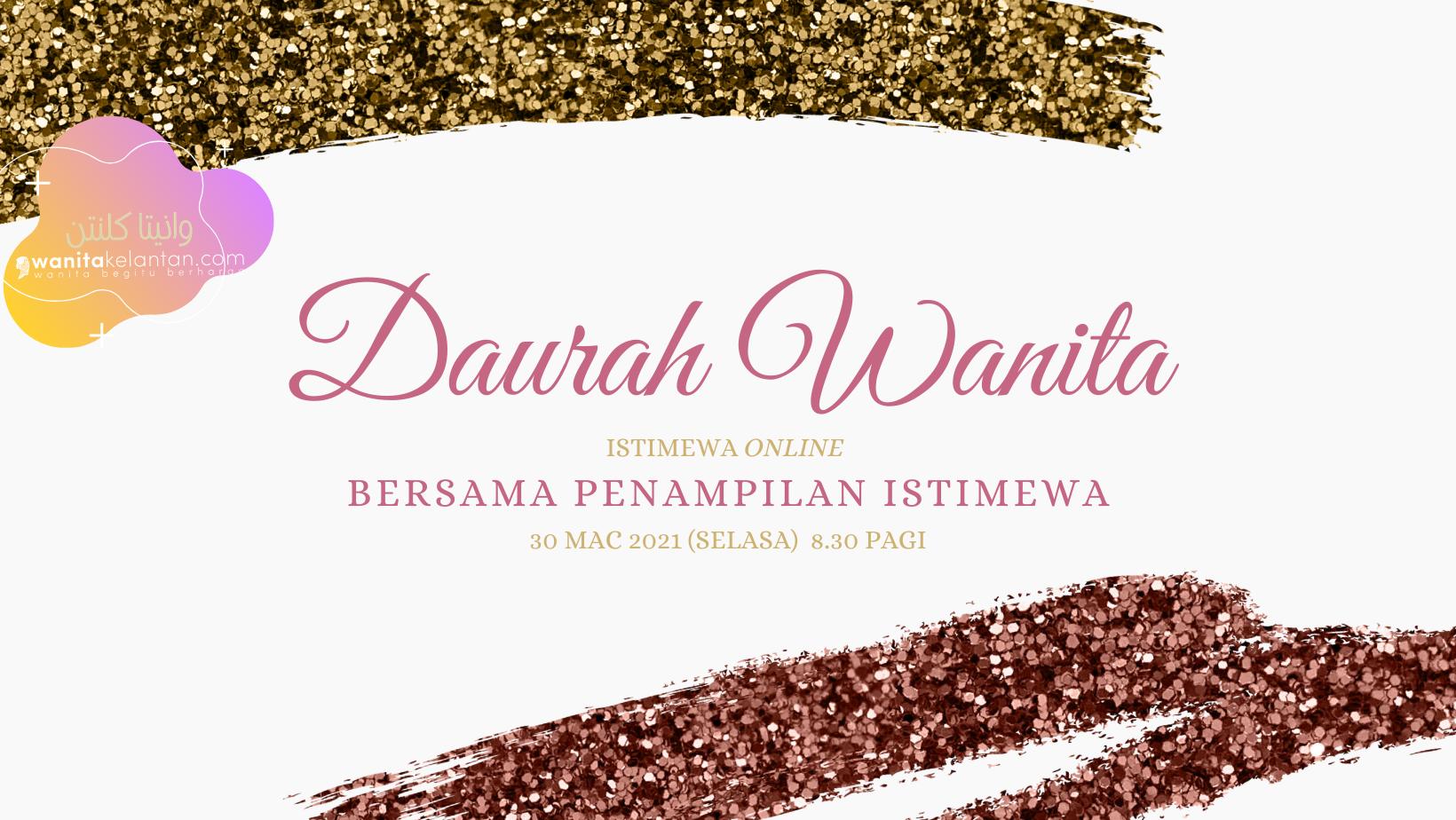 Siri Daurah Wanita Istimewa Online