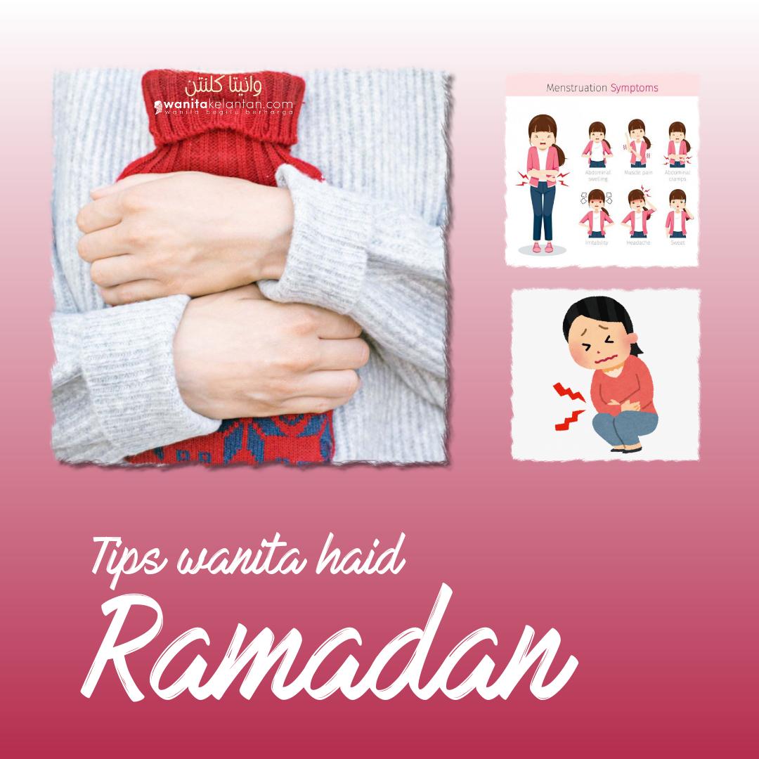 Tips Amalan Wanita Haid Semasa Ramadan