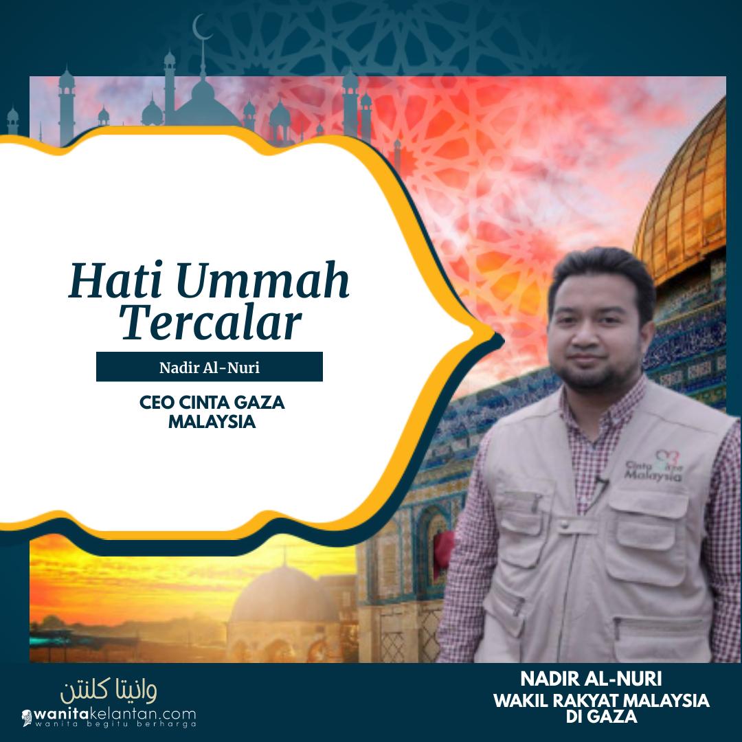 HATI UMMAH TERCALAR – Made With PosterMyWall