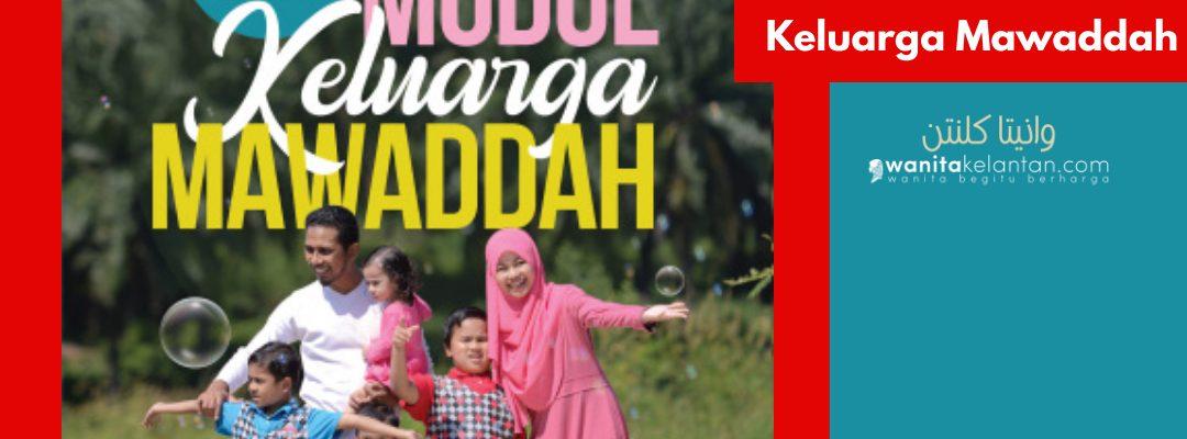 Modul Keluarga Mawaddah Kunci Rumah Tangga Bahagia