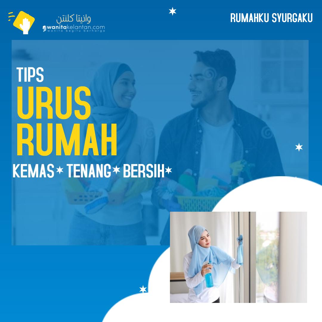 TIPS URUS RUMAH TANGGA – Made With PosterMyWall