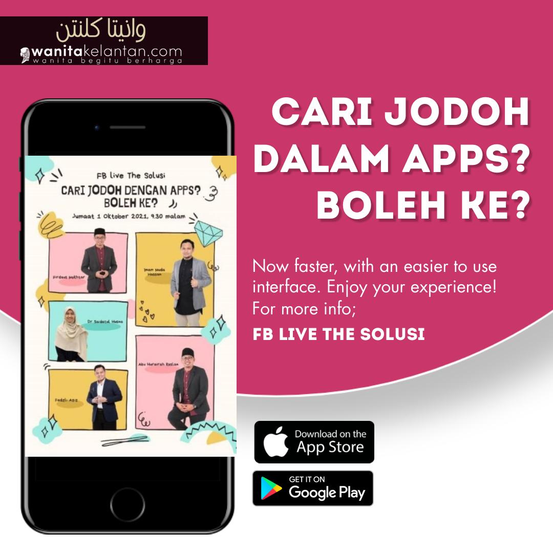 Cari Jodoh Dalam Apps? Boleh Ke?