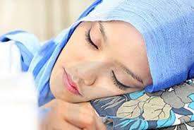 Tidur Mengiring Ke Kanan