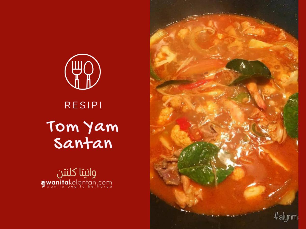 Resipi Tom Yam  Santan